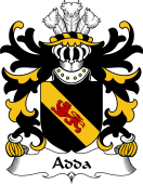 Welsh Coat of Arms for Adda (of Mochnant)