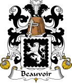 Coat of Arms from France for Beauvoir
