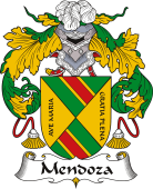 Spanish Coat of Arms for Mendoza I