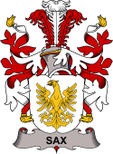 Danish Coat of Arms for Sax