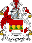 Irish Coat of Arms for MacConchy or MacConaghy