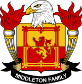 American Coat of Arms for Middleton