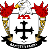 American Coat of Arms for Banister