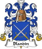 Coat of Arms from France for Blandin