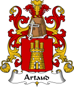 Coat of Arms from France for Artaud