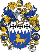 English or Welsh Coat of Arms for Keene (or Keen-North Cove, and Thandeston, Suffolk)