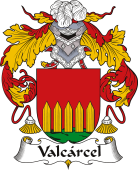Spanish Coat of Arms for Valcárcel