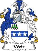 Irish Coat of Arms for Weir or Weer
