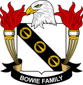 American Coat of Arms for Bowie