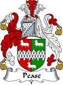 English Coat of Arms for Pease