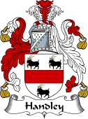 English Coat of Arms for Handley