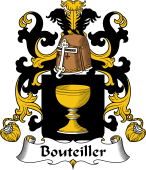 Coat of Arms from France for Bouteiller