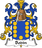 Coat of Arms from France for Bodin I