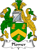 English Coat of Arms for Plomer
