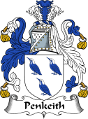 English Coat of Arms for Penkeith