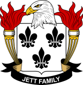 American Coat of Arms for Jett