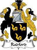 English Coat of Arms for Radford