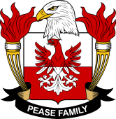American Coat of Arms for Pease