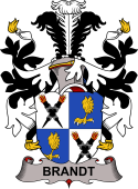 Swedish Coat of Arms for Brandt