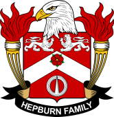 American Coat of Arms for Hepburn