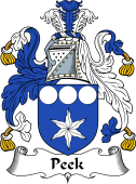 English Coat of Arms for Peek