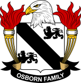 American Coat of Arms for Osborn