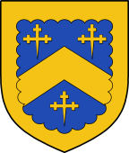 Coat of Arms from France for Sturgis or Sturges