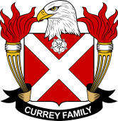 American Coat of Arms for Currey