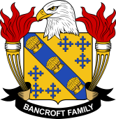American Coat of Arms for Bancroft