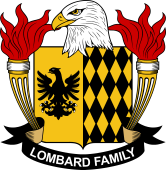 American Coat of Arms for Lombard