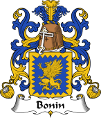Coat of Arms from France for Bonin