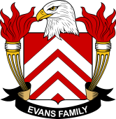 American Coat of Arms for Evans