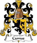 Coat of Arms from France for Camus I