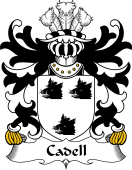 Welsh Coat of Arms for Cadell (King of Powys)