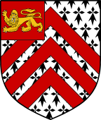 English Family Shield for Orby
