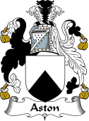 English Coat of Arms for Aston