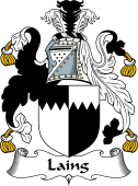 Scottish Coat of Arms for Laing