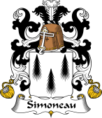 Coat of Arms from France for Simoneau