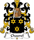 Coat of Arms from France for Chauvel