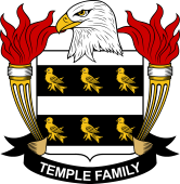 American Coat of Arms for Temple