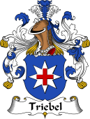 German Wappen Coat of Arms for Triebel