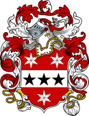 English or Welsh Coat of Arms for Everard (1583)
