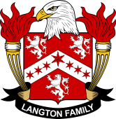 American Coat of Arms for Langton