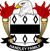 American Coat of Arms for Handley