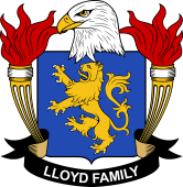 American Coat of Arms for Lloyd