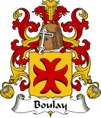 Coat of Arms from France for Boulay