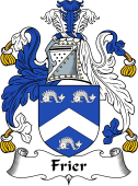 Scottish Coat of Arms for Frier