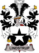 Norwegian Coat of Arms for Lindstrup