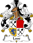 German Wappen Coat of Arms for Laue