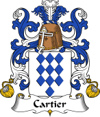Coat of Arms from France for Cartier
